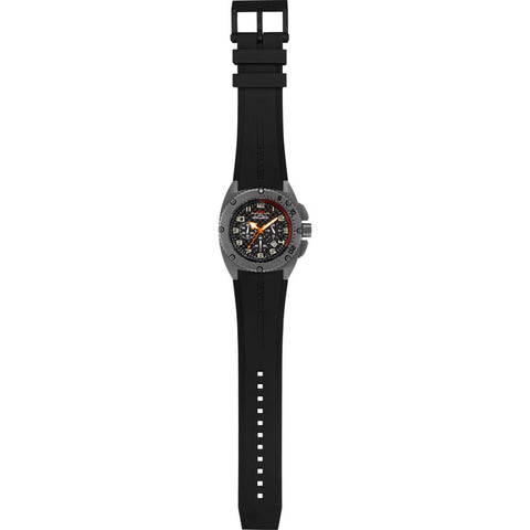 MTM Special Ops Patriot Watch | Grey/Black Dial/Black Rubber III