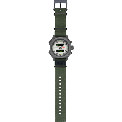 MTM Special Ops Air Stryk II Watch | Gray/Asiiwl/Nylon Green