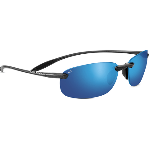 Serengeti Nuvola Metallic Black Photochromic Sunglasses | Polar PhD 555nm Blue 8129