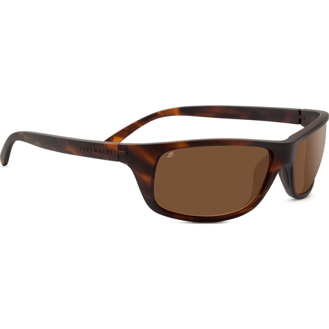 Serengeti Bormio Satin Dark Tortoise Photochromic Sunglasses | Polar PhD Drivers 8166