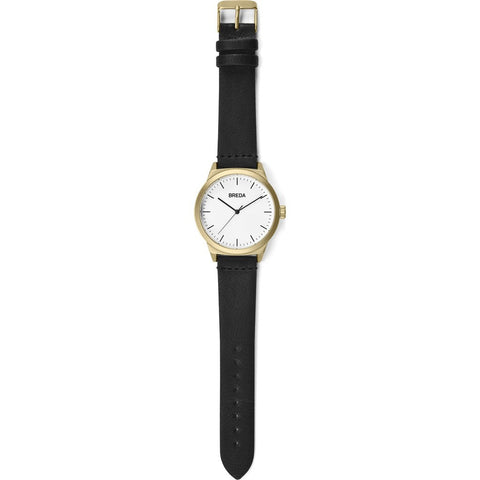 Breda Watches Rand Watch | Gold/Black 8184k