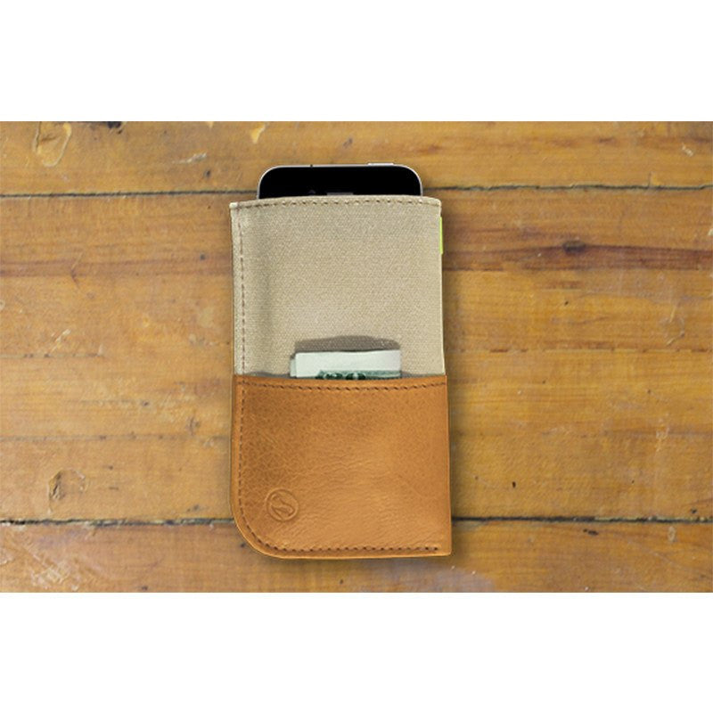 DODOcase DURABLES Natural Wallet for iPhone 5 | Beige