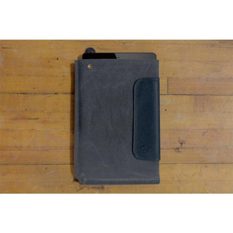 DODOcase DURABLES Leather Sleeve for iPad Mini | Navy