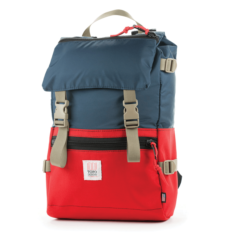Topo Designs Rover Pack Backpack Navy/Red