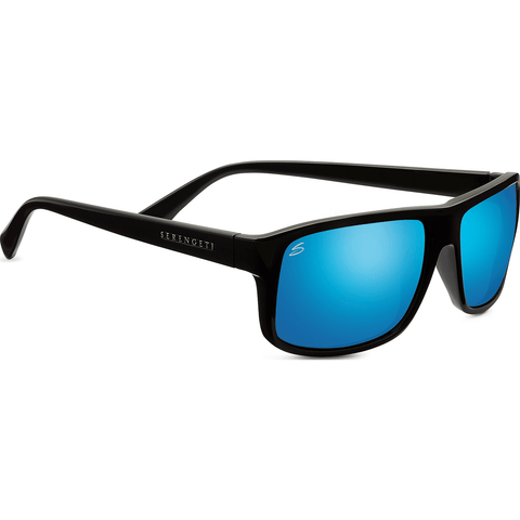 Serengeti Claudio Satin Dark Gray Photochromic Sunglasses | Polarized 555nm Blue 8214