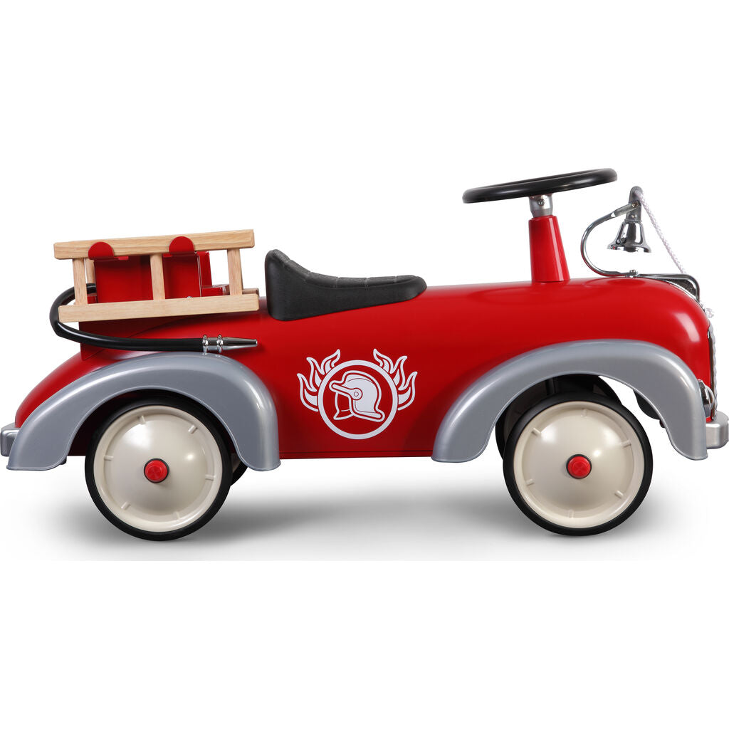 Baghera Kid's Speedster Ride On Fire Truck | Red