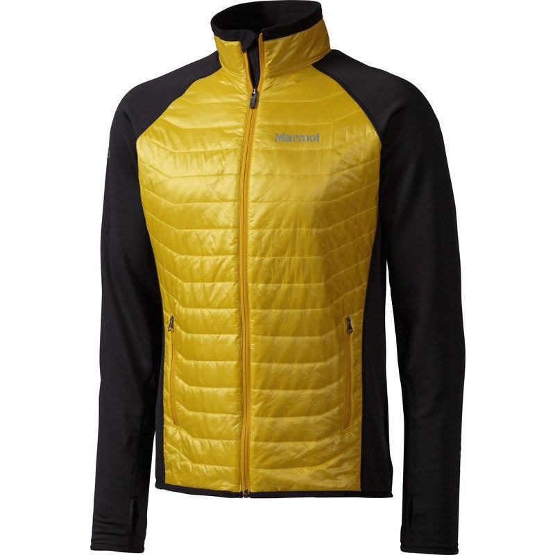 Marmot Men's Thermal Rª Variant Jacket | Yellow Vapor/Black 83890-9383 S