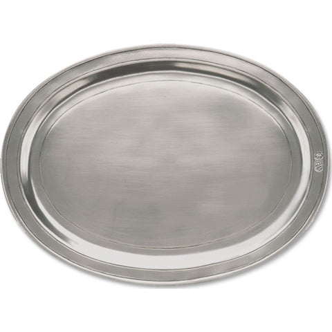 Match Oval Incised Tray