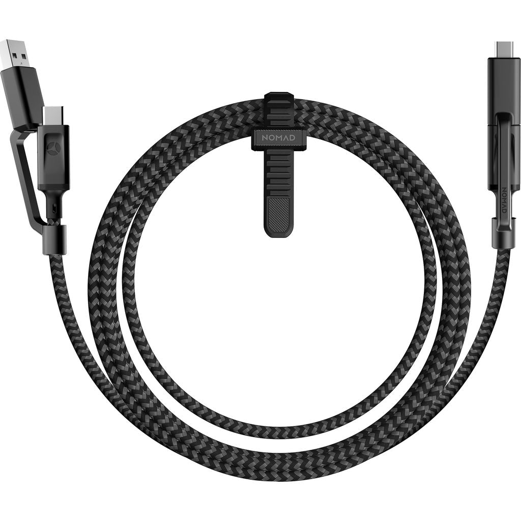 Nomad Universal Cable USB-C | Black