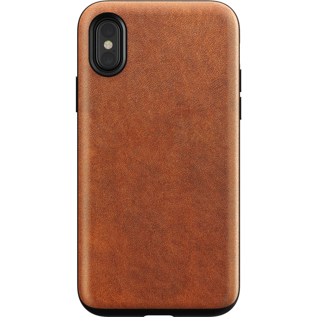 finest selection 72759 39232 Nomad Rugged Leather Case for iPhone X | Brown