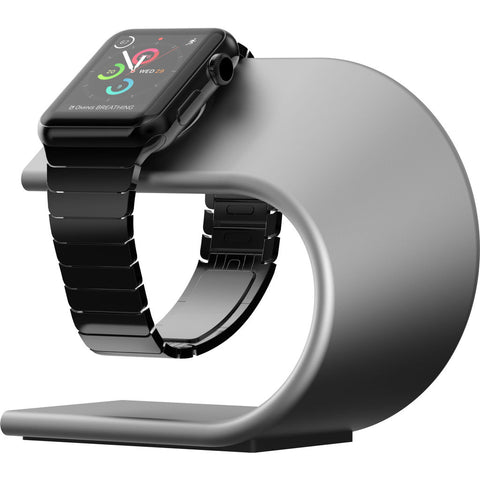 Hello Nomad Stand for Apple Watch | Silver