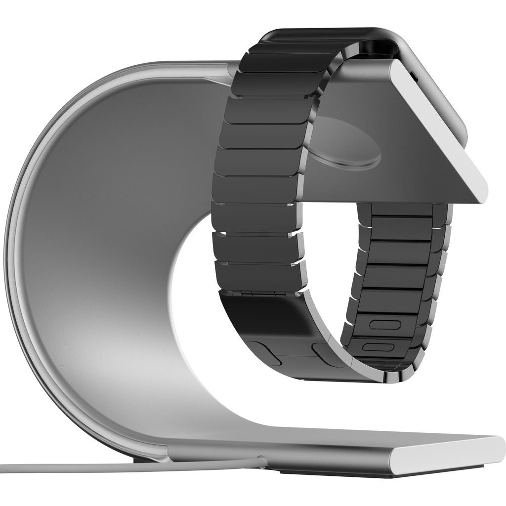 Nomad Apple Watch Stand | Silver