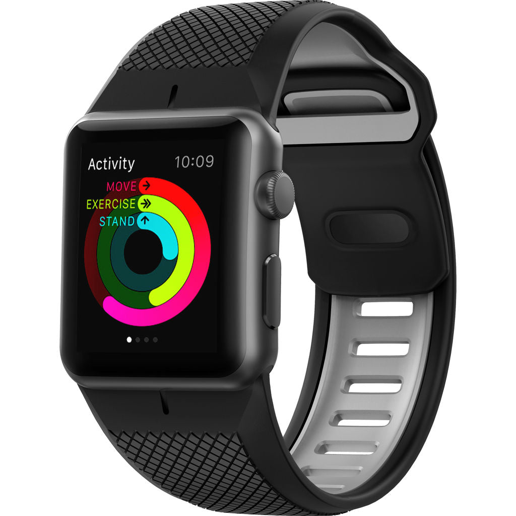 Nomad Silicone Sport Strap for Applewatch | Black