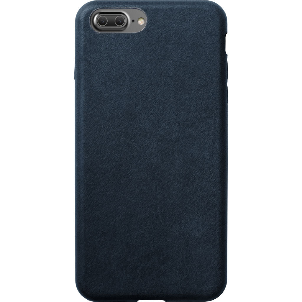 Nomad Case for iPhone 7 Plus | Midnight Blue Horween Leather