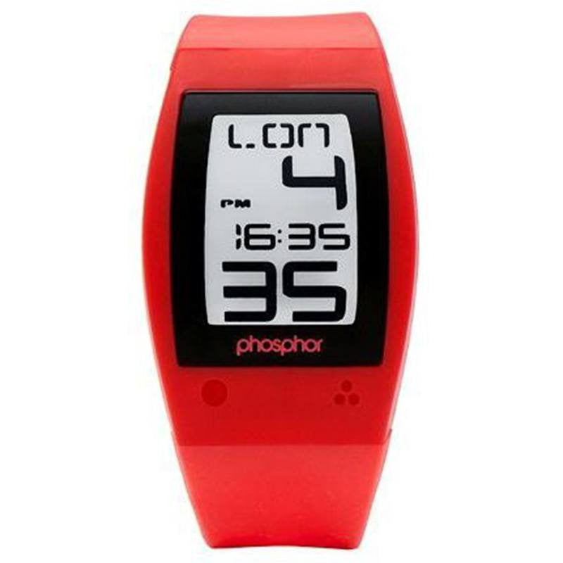 Phosphor World Time Red Sport Watch | WP004