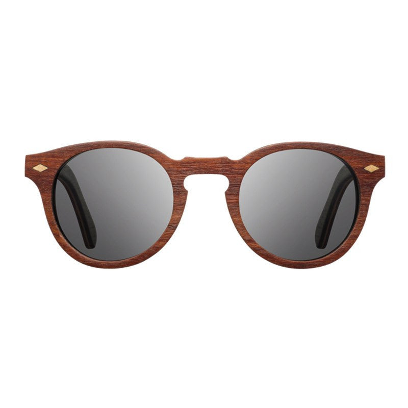 Shwood Florence Select Sunglasses | Mohagany & Rosewood / Gray Polarized