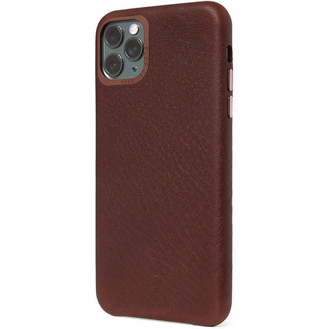 Decoded iPhone 11 Pro Leather Back Cover Case | Tan