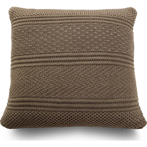 Atipico Intrecci Pillow Cushion | Terra Brown 8800
