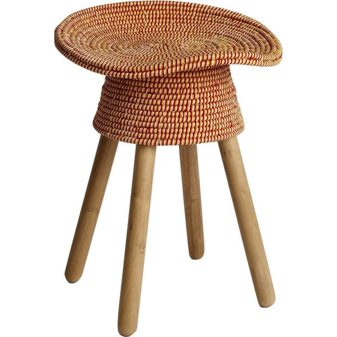 Umbra Shift Coiled Stool | Red 880240-505
