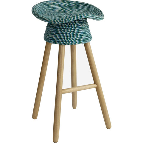 Umbra Shift Coiled Counter Stool | Aqua 880242-020