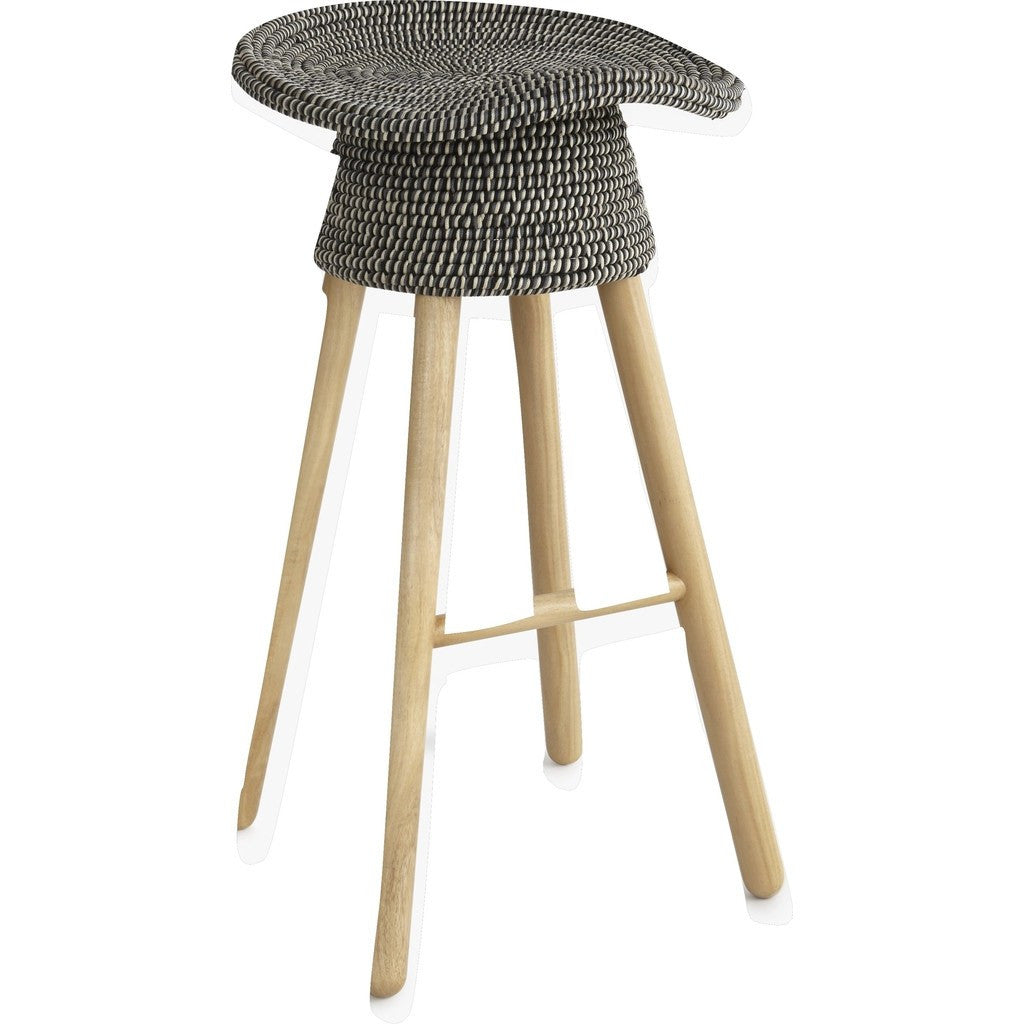 Umbra Shift Coiled Counter Stool | Grey 880242 255 ...