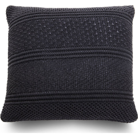 Atipico Intrecci Pillow Cushion | Lava Gray 8802