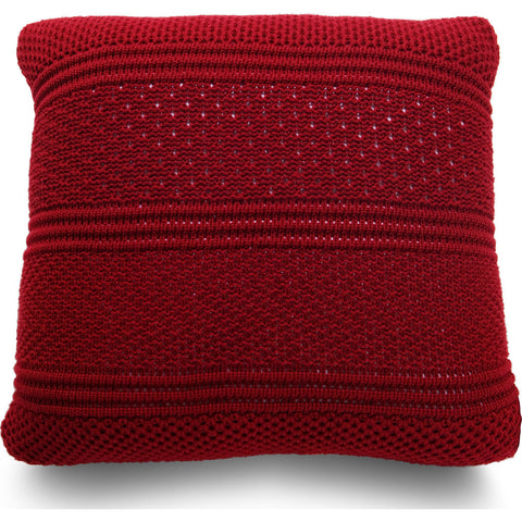 Atipico Intrecci Pillow Cushion | Flame Red 8803