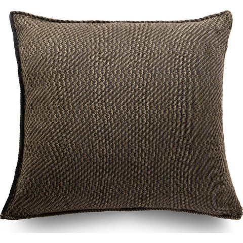 Atipico Spinato Pillow Cushion | Terra Brown 8815