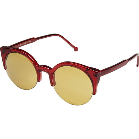 RetroSuperFuture Lucia Sunglasses | Ruby Red 883