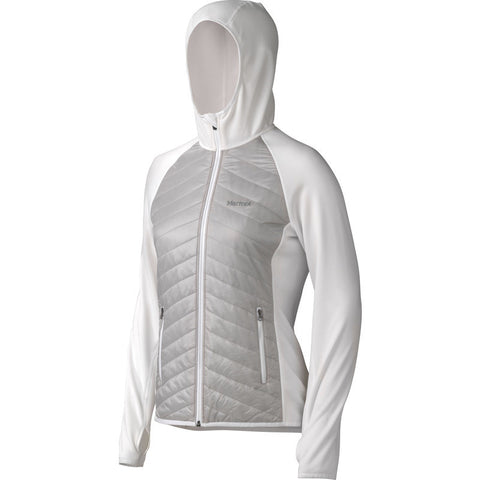 Marmot Women's Thermal Rª Variant Hoodie | Platinum/White 88710-1347 M