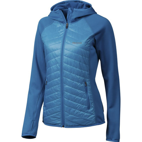 Marmot Women's Thermal Rª Variant Hoody | Sea Breeze/Dark Atomic 88710-2971
