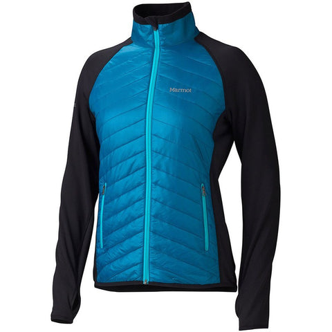 Marmot Variant Women's Thermal R™ Jacket | Aqua Blue/Black