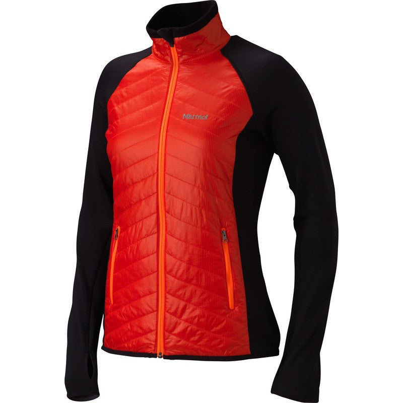 Marmot Women's Thermal Rª Variant Jacket | Coral Sunset/Black 88730-6542