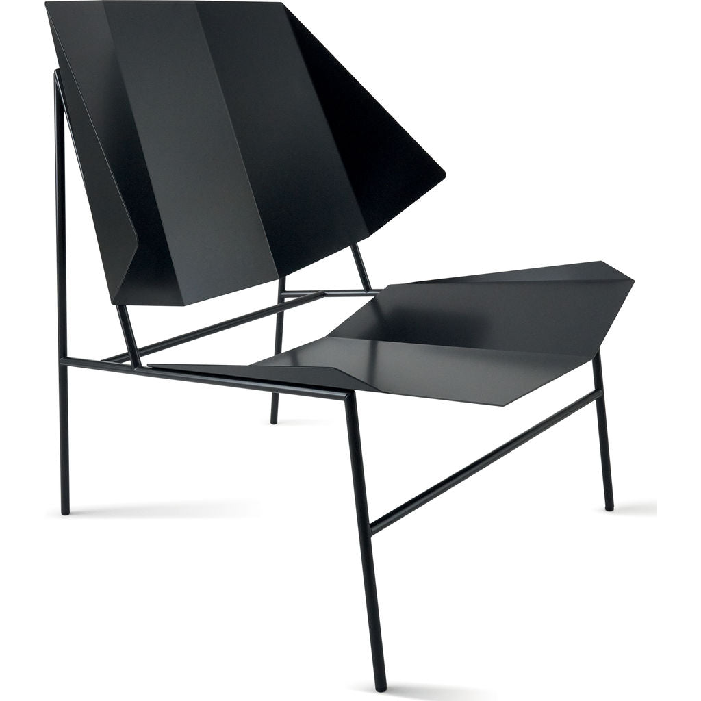 Atipico Terra Armchair | Black Gray 8882