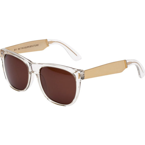 RetroSuperFuture Classic Sunglasses | Francis Crystal Gold 892