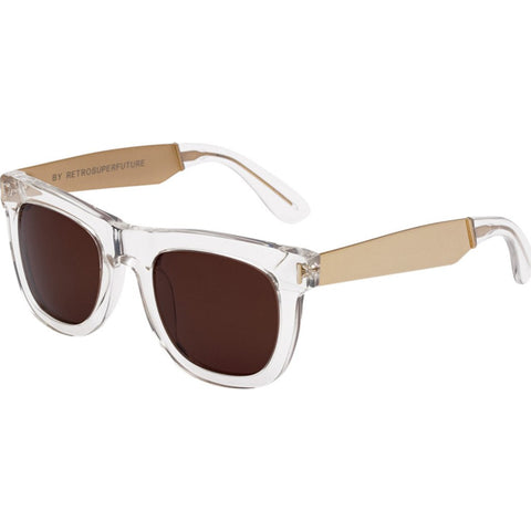 RetroSuperFuture Ciccio Sunglasses | Francis Crystal Gold 894