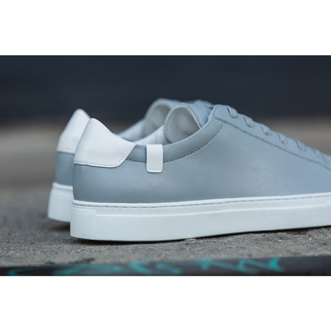 House of Future Original Low Top Micro-Leather Shoes USM 13 / EUR 46 | Light Grey/White 1044C1022USM130