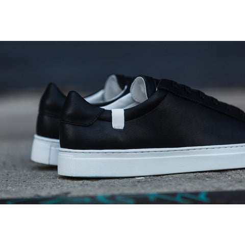 House of Future Original Low Top Micro-Leather Shoes USM 13 / EUR 46 | Black 1044C1006USM130