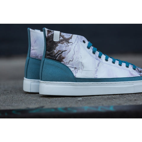 House of Future Original Hi Top Micro-Suede/ Tyvek Shoes USM 13 / EUR 46 | Lakeside 1009C1018USM130