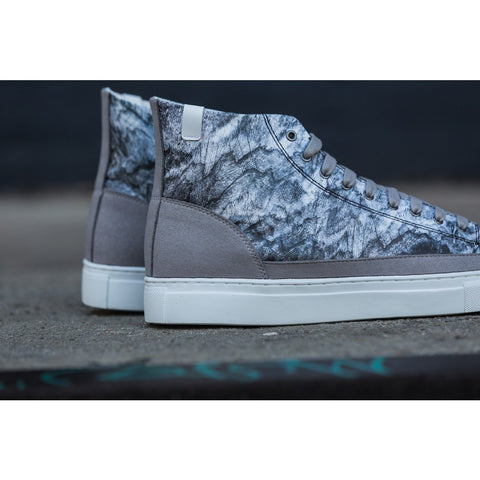 House of Future Original Hi Top Micro-Suede/ Tyvek Shoes USM 13 / EUR 46 | Glacier 1009C1017USM130