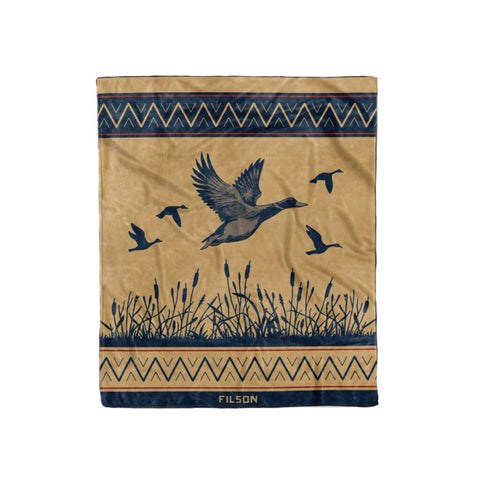 Filson Waterfowl Blanket - Ducks Unlimited | Twill One Size