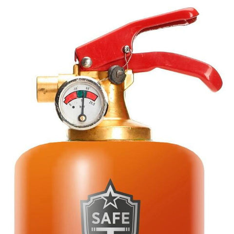 Safe-T Designer Fire Extinguisher | Liquid - Rum