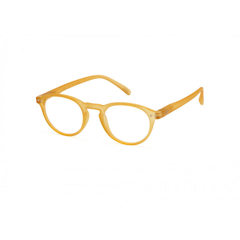 Izipizi Reading Glasses A-Frame | Yellow Honey