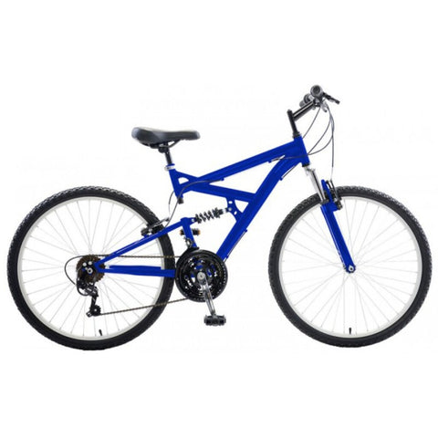 "Cycle Force Men's Dual Suspension Mountain Bike |  26"" Wheels/18"" Frame"