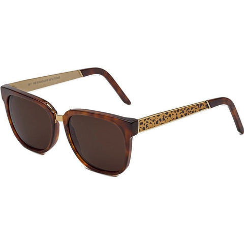 RetroSuperFuture People Sunglasses | Francis Leopard 927