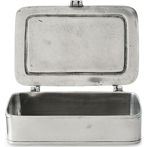 Match Lidded Box | Pewter