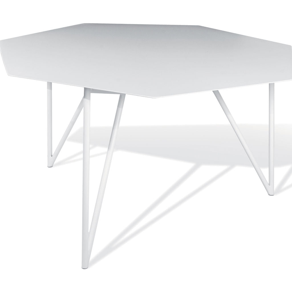 Atipico Terra Coffee Table | Signal White/White 9450