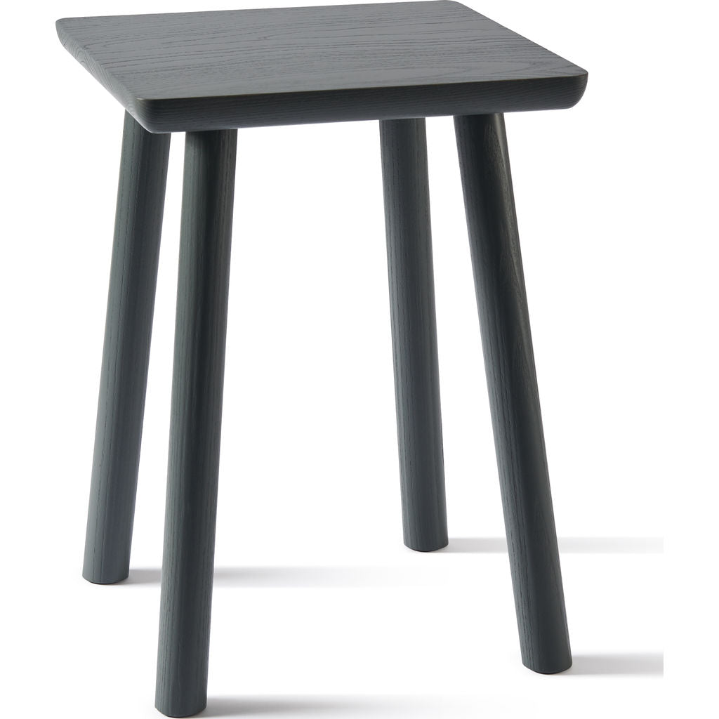 Atipico Acrocoro Ash Wood Stool | Traffic Grey 9484