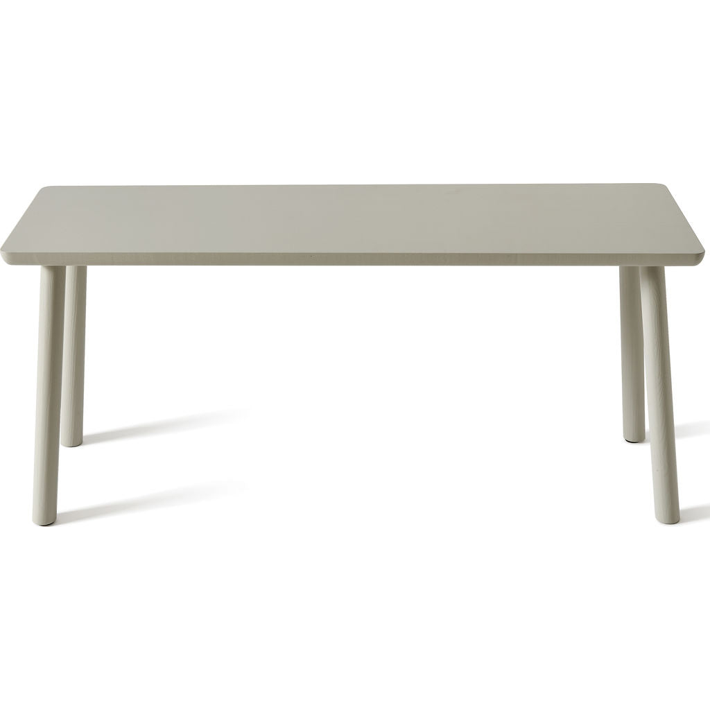 Atipico Acrocoro Ash Wood Bench | Silk Grey 9493