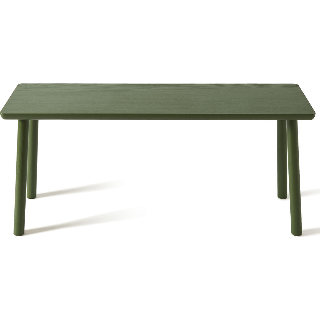 Atipico Acrocoro Ash Wood Bench | Olive Green 9495